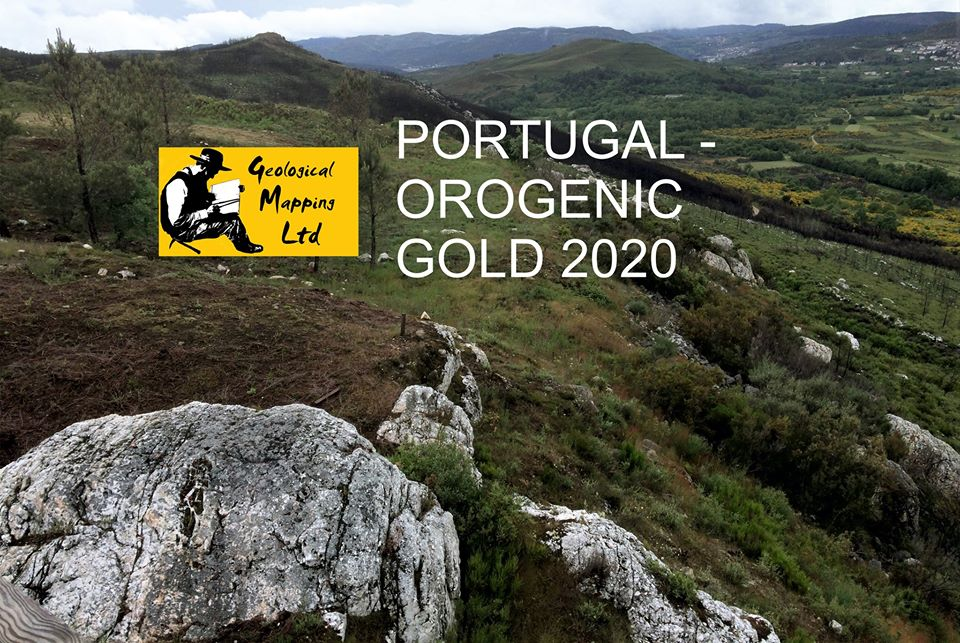 Mapping Training & Orogenic Gold Portugal June 2020